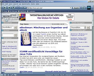 Netscape 6 Preview Release 3
