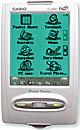 Casio Pocket-Viewer mit fünfsprachigen Wörterbüchern