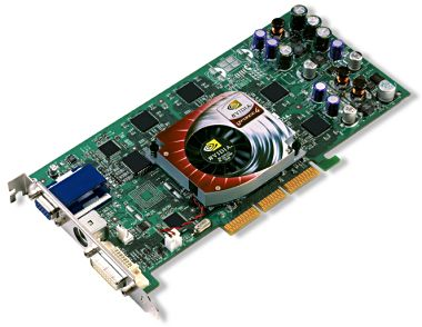 GeForce4 Ti 4600 - Referenz-Board von NVidia