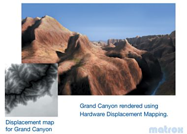 Matrox Hardware Displacement Mapping (HDM)