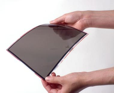Flexibles TFT-Display von Toshiba
