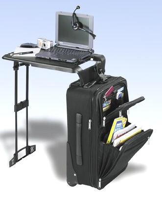 hama notebook koffer mit ausklappbarem arbeitstisch. Black Bedroom Furniture Sets. Home Design Ideas
