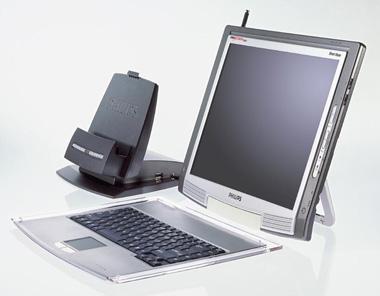 Philips DesXcape 150DM mit Tastatur und Dockingstation