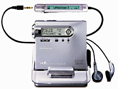 Sony Net-MD-Walkman MZ-N10
