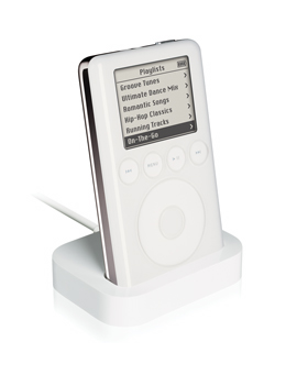 iPod mit Docking-Station
