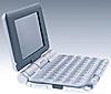 Sonys Tastatur-PDA als Variante ohne WLAN und mit Bluetooth