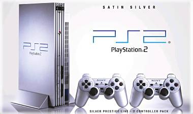 PS2 Silver Satin Edition