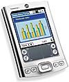 Angetestet: Einstiegs-PDA Tungsten E mit Farbdisplay