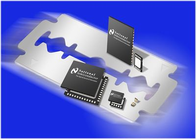 micro SMD (Surface Mount Device)- und LLP (Leadless Leadframe Package)