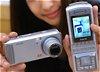 Kamera-Handy mit 3,2 Megapixeln und optischem 3fach-Zoom
