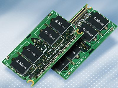 Infineon DDR2-Micro-DIMM
