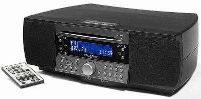 creative bringt radio lautsprecherkombi mit mp3 cd spieler. Black Bedroom Furniture Sets. Home Design Ideas