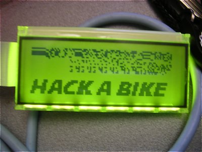 CallABike-Display nach dem Hack