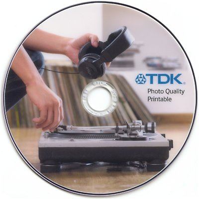 TDK Photo Quality Printable DVD
