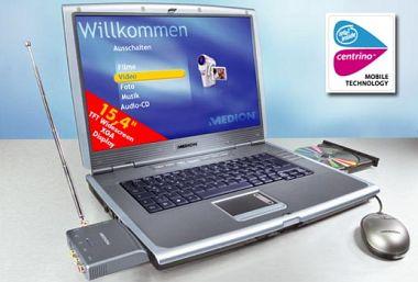 Aldi: Centrino-Notebook mit Radeon, Breitbild und DVD+R DL - Golem.de