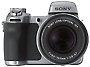 Sony-Kamera mit stabilisiertem 12fach-Zoom und 5 Megapixeln