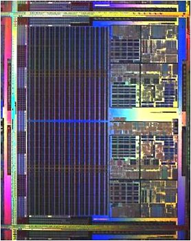 Dual-Core-Opteron (Prototyp in 90 nm)