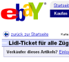 Lidl-Tickets: Wucherpreise bei eBay (Update)