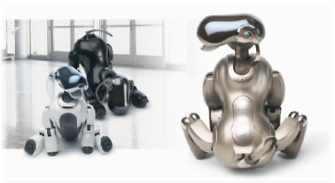 Aibo-Modelle mit Mind-3-Software
