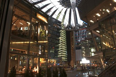 Sony-Center am Potsdamer Platz in Berlin