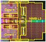 Tulsa MP - Kerne teilen sich 16 MByte Level-3-Cache