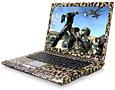 Notebooks im Tarnanstrich mit Nvidia GeForce Go 7800 GTX