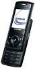 Dünnes Schiebe-Handy von Samsung mit 1,3-Megapixel-Kamera