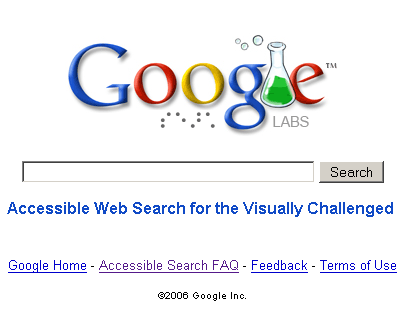 Google Accessible Search