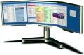Dreiteiliger TFT-Monitor mit 1,2 Metern Diagonale (Update)