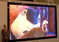 CeBIT: HD-Fernseher mit 5 Metern Diagonale aus LEDs