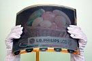 Großes farbiges E-Paper-Display von LG.Philips