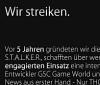 Stalker-Fans streiken