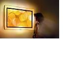 Philips' Aurea: HD-Fernseher beleuchtet Rahmen und Raum