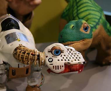 Pleo: Jeder mag Dinsosaurier