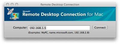 Remote Desktop Connection Client for Mac 2