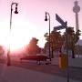 Berliner Straßen in der Onlinewelt Twinity
