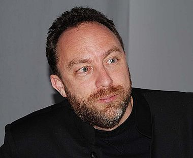 Jimmy Wales (Foto: Petra Vogt)