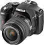 Pentax K-m: Leichte digitale Spiegelreflexkamera
