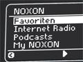 Kompaktes Internetradio mit Anschluss an Musikdienste
