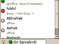 Spicebird 0.7 unterstützt Instant Messaging besser
