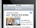 TV-, Kino- und Eventprogramm auf dem iPhone
