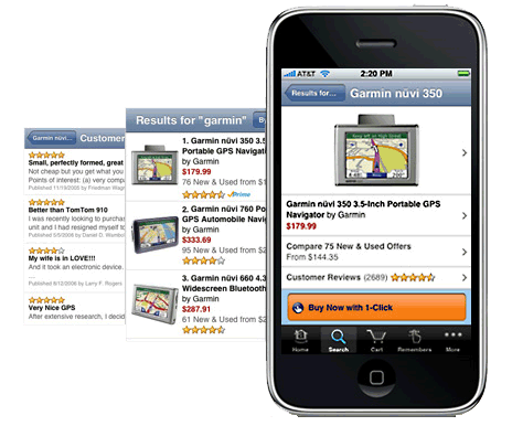 Amazon-iPhone-Applikation