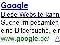 Google - kleiner Fehler, große Wirkung