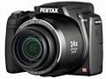 Pentax' erste Superzoomkamera mit 26 bis 624 mm Brennweite