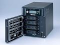 NAS mit vier Festplatten von Buffalo erreicht 100 MByte/s