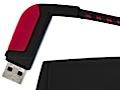 Freecom ToughDrive Sport mit Karabinerhaken