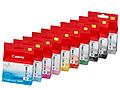 Canon-Fotodrucker für A3-Papier arbeitet mit zehn Tinten
