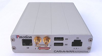 IPmotions CAR-A-WAN automotive v3: UMTS-WLAN-Router fürs Auto