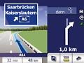 Falk F6: Navigationsgerät erhält 3D-Fahrspurassistenten