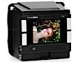 Kamerarückteil mit Auflösung von 40 und 10 Megapixeln
